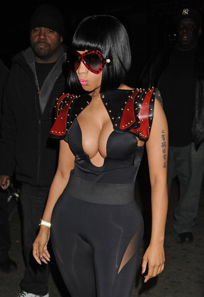 Nicki Minaj at Christmas Extravaganza at Webster Hall -11-1