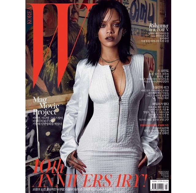 Rihanna-W-Magazine-Korea-1