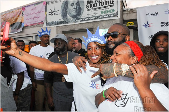 Rick Ross Hosts His 8th Annual Toy Giveaway